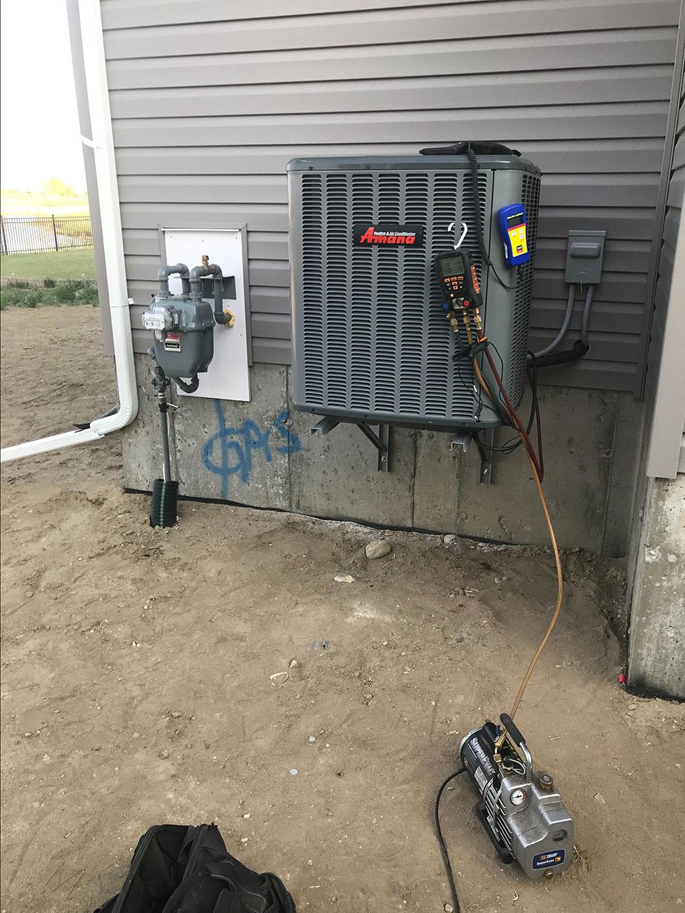 air conditioner regina plumber